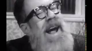 John Berryman and Bob Dylan have a very bizarre conversation (rare video)