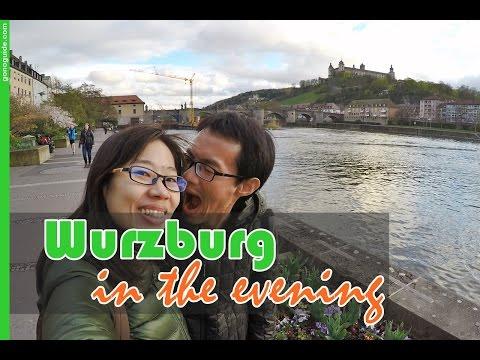 [เที่ยวยุโรป] Travel Wurzburg in the evening : Germany-Austria Travel Vlog Ep32