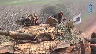بعد الفرقة 13 هيئة تحرير الشام ترسل عتادها الثقيل للقضاء على لواء صقور الشام