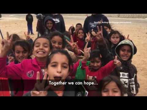 For the Young Brave-Hearts in Zaatari Village in Jordan