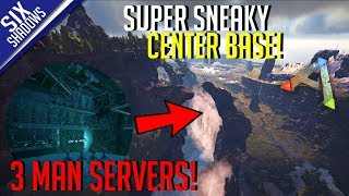 RAIDING A REALLY SNEAKY BASE! | MTS 3-Man PvP Servers! - Ark: Survival Evolved