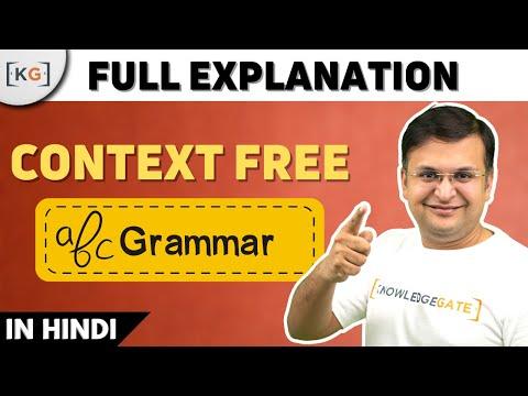 Context Free Language in HINDI | context free Grammar and pushdown automata | CFL PDA CFG | part-59