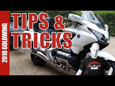 2018 Honda Gold Wing Tips and Tricks