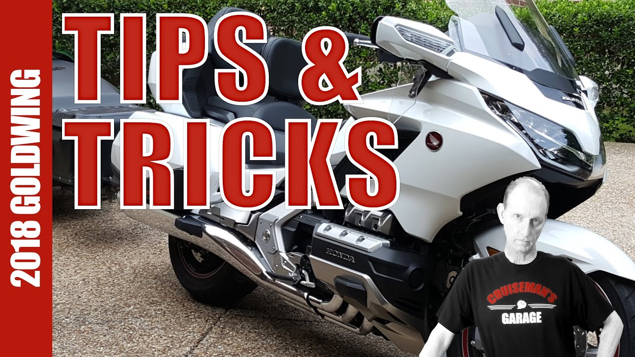 2018 Honda Gold Wing GL1800 Tips and Tricks