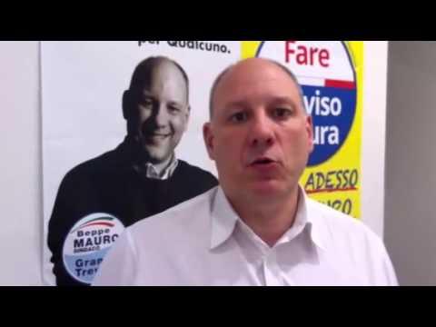 Beppe Mauro, dopo la conferenza stampa di Fare Treviso Futura