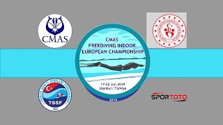 CMAS FREEDIVING INDOOR EUROPEAN CHAMPIONSHIP