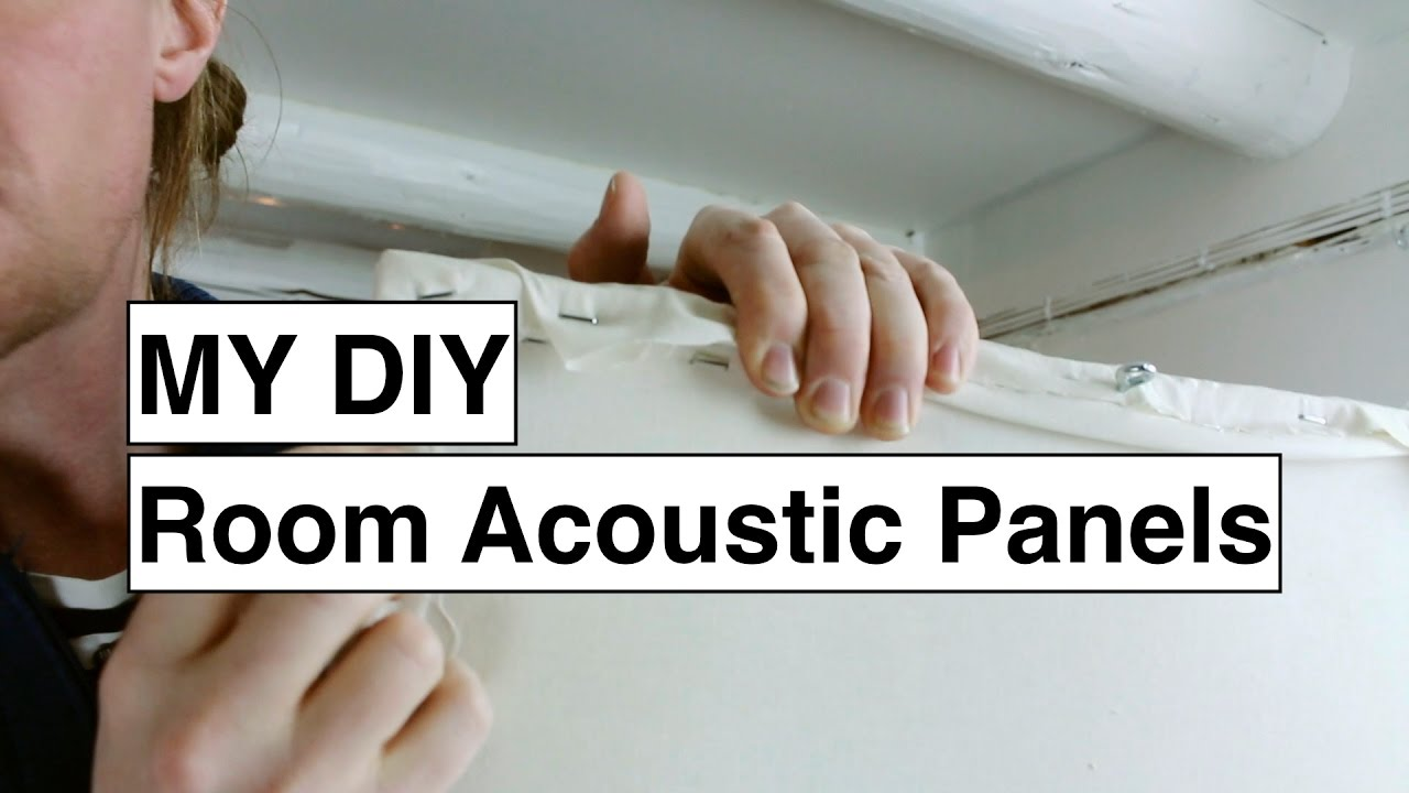 DIY Acoustic Treatment - Before and After Comparison - Studio Live ...