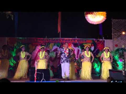 JBL Finance & Admin HAWAIIAN DANCE - 2014 CHRISTMAS PARTY