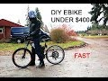$400 FAST DIY Electric Bike