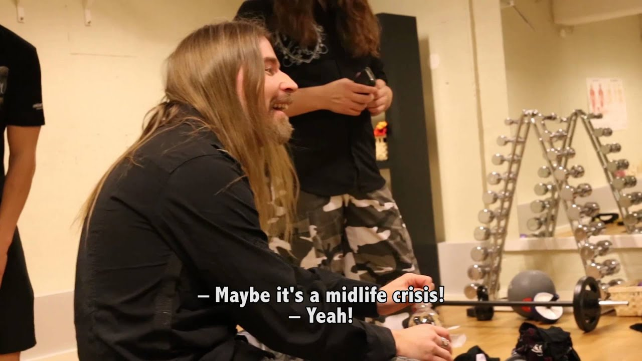 SABATON — The Spinning Class Show (OFFICIAL BEHIND THE SCENES)