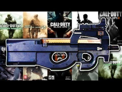 The Evolution of The P90 in Every Call of Duty