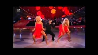 Uffe, Karina & Marianne danser Samba - Vild Med Dans 2013 Runde 11