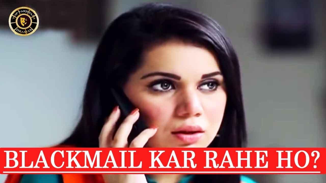 Kesi Tasweeren ???  Blackmail Kar Rahe Ho Mujhe - Besharam - Best Scene