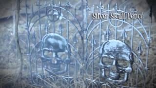 Halloween Decor Skull Fence