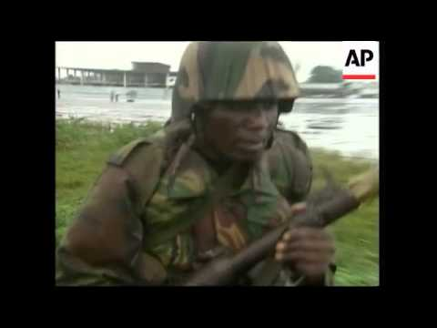 First West African Peacekeepers Arrive