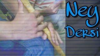 Ney Dersleri 7 - Nice bir uyursun uyanmaz mısın (Hicaz İlahi)