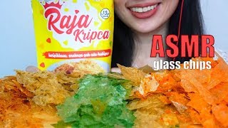 ASMR EATING SOUNDS KRIPCA - KERIPIK KACA / GLASS CHIPS | NO TALKING | SHEFEBULOUSCIOUS