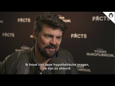 THOR: RAGNAROK interview with Karl Urban
