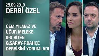 Galatasaray 0-0 Fenerbahçe | Maç sonu yorumları, hakem ve futbolcu analizleri -Derbi Özel 28.09.2019