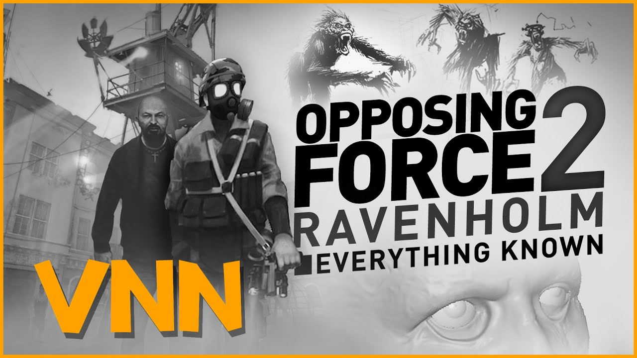 Valve's Cancelled Half-Life: Opposing Force 2: Ravenholm - Everything Known