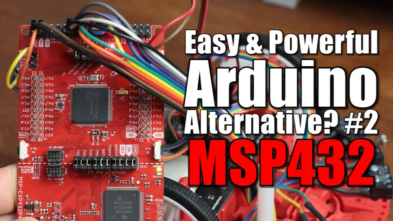 Easy & Powerful Arduino Alternative? #2 MSP432 Beginner's Guide