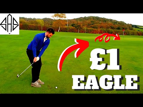 MAKING EAGLE WITH £1 GOLF CLUBS - CHEAP CLUB MATCH