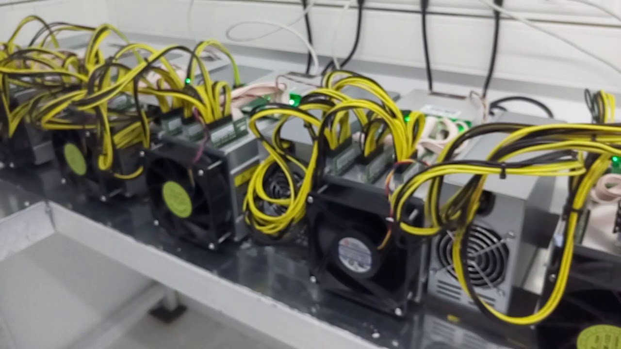 Oil cooling system Antminer S9 Bitcoin 2