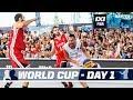 FIBA 3X3 World Cup 2017 Nantes, France Pool Phase Day 1