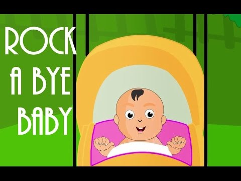 Rock A Bye Baby | Lullaby For Kids | Popular English Nursery Rhymes With Lyrics
