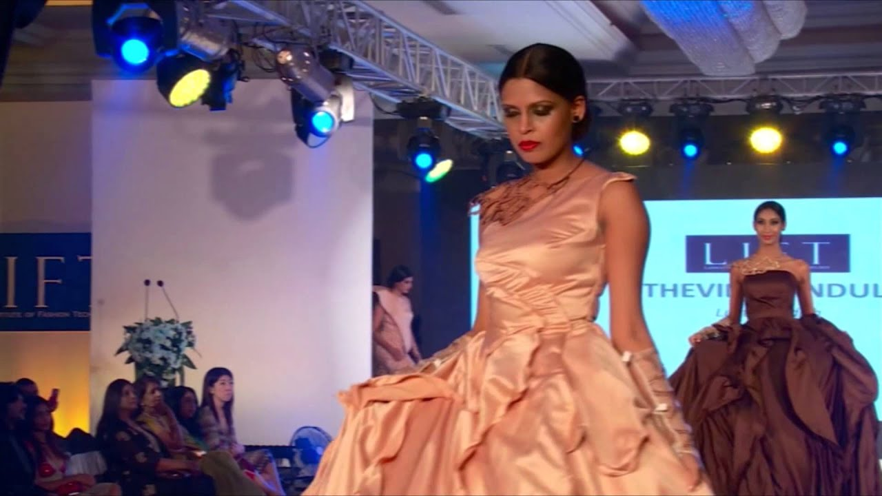 Thevini Bandula's Collection at the LIFT Fashion Awards 2015