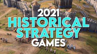 Upcoming Historical Strategy Gaṁes 2021