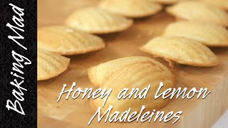 Eric Lanlard's Honey And Lemon Madeleines