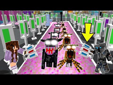 Minecraft: IMPOSSIBLE VIRUS DEFENSE! (INSANE VIRUSES & TOWERS!) Modded Mini-Game