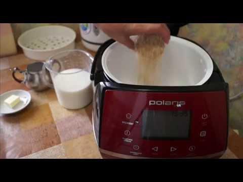 Домашние видео рецепты -  овсянная каша в мультиварке