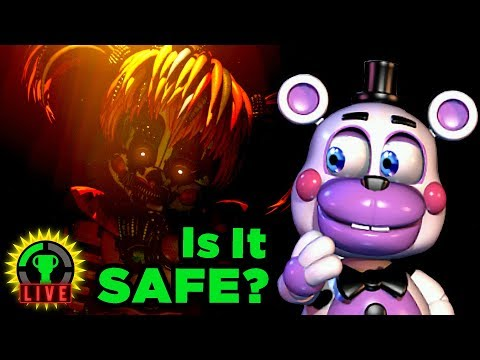FNAF 6's SLACKER ENDING! | Five Nights at Freddy's: Pizzeria