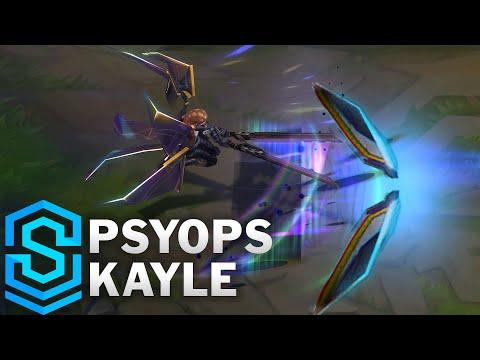 PsyOps Kayle Skin Spotlight - Pre-Release - League of Legends
