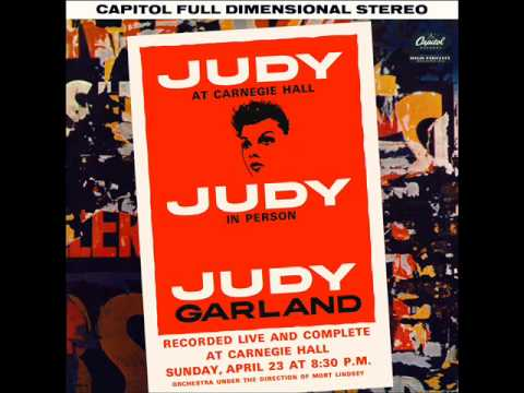 Judy Garland Live at Carnegie Hall 1961 Act 1 FULL ALBUM