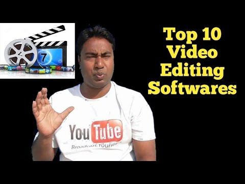 Top 10 Best Video Editing Software's !! Free & Paid