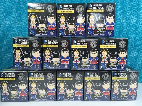 Full Case DC Comics Super Heroes Funko Mystery Minis Unboxing