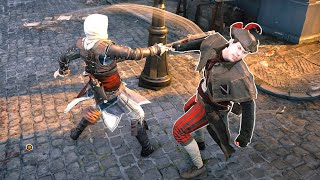 Assassin's Creed Unity Tanner `s Axe Rampage & Edward s Outfit  vs The Party Palace Ultra Settings