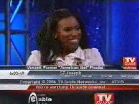 """Vonzell """"Baby V"""" Solomon on Idol Chat"""