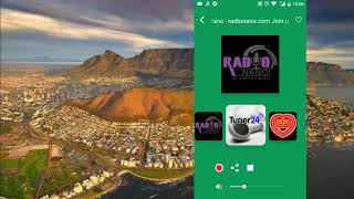 South African Radio Live (online mobile application for android) / Radio Stations from South Africa screenshot 1