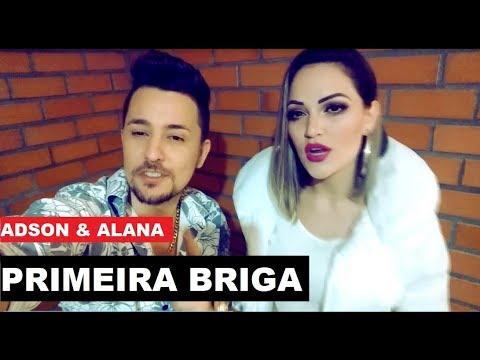 Adson e Alana - PRIMEIRA BRIGA ( EP Pancadão Romântico 2018 ) Lançamento outubro 2018 musica nova