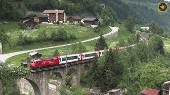 """SCHWEIZ - Glacier Express """"Die berühmteste Bahn der Alpenwelt"""" Swiss Alps - Switzerland"""
