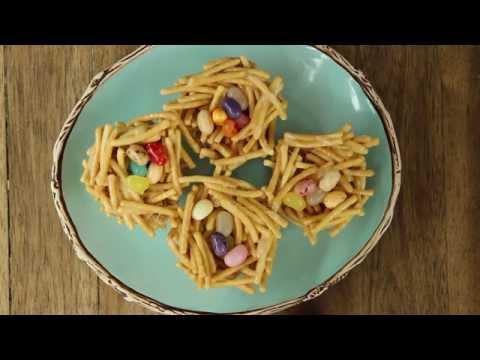How to Make Jelly Bean Nests   Easter Recipes   Allrecipes.com