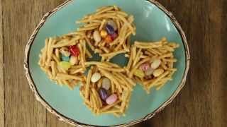 Easter Recipes - How To Make Jelly Bean Nests