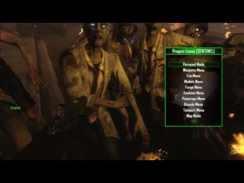 Black Ops 2 Zombies Menu Showcase *Project Iconic Sentinel Edition*