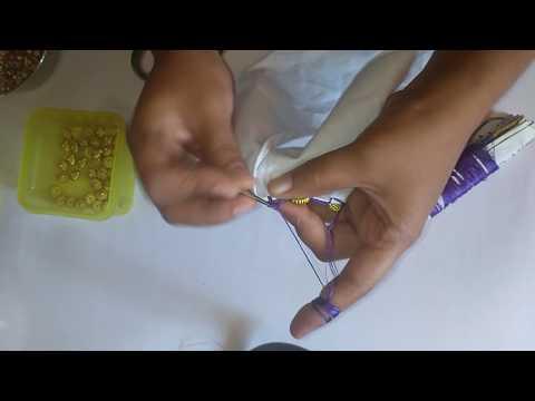 Avani simple saree kuchu design