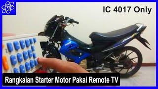 STARTER MOTOR PAKAI REMOTE XIAOMI / TV - Tanpa Arduino | TRIK ID