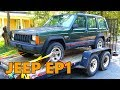 Free Jeep Cherokee XJ Project First Look (Ep.1)